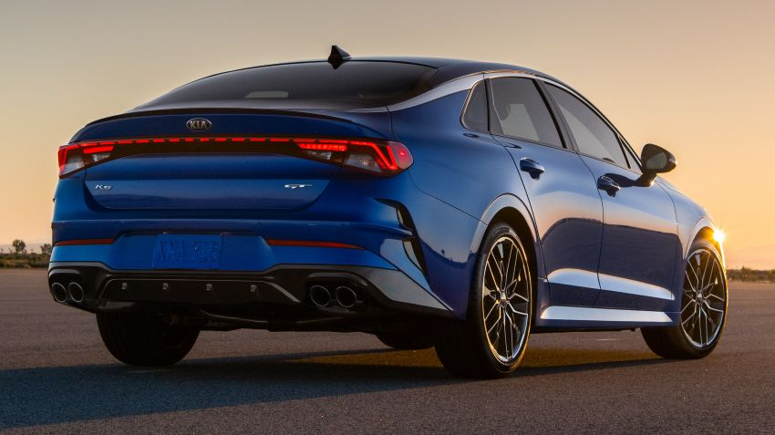 2021 Kia K5 revealed for US, replaces Optima name Image #1139004