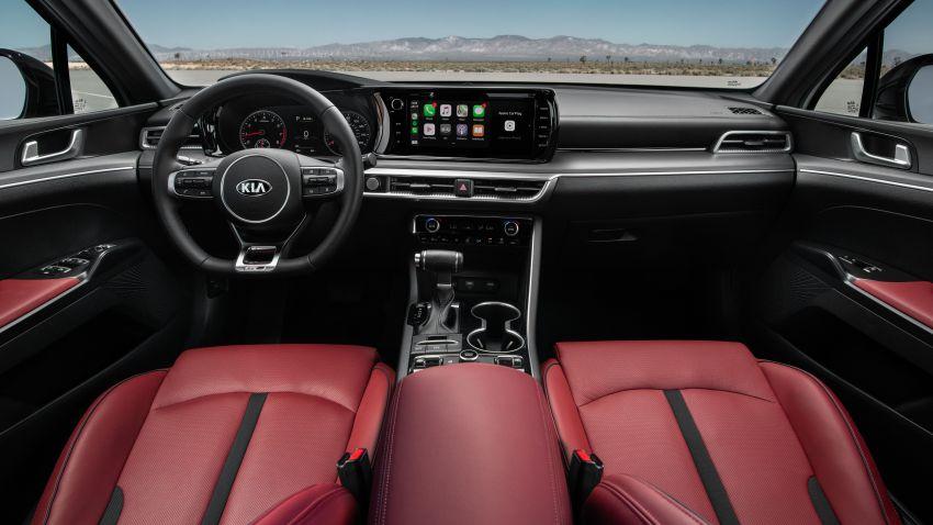2021 Kia K5 revealed for US, replaces Optima name Image #1139080
