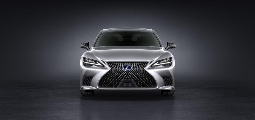 2021 Lexus LS facelift – Lexus Teammate autonomous driving and parking tech, touchscreen, better comfort Image #1142145