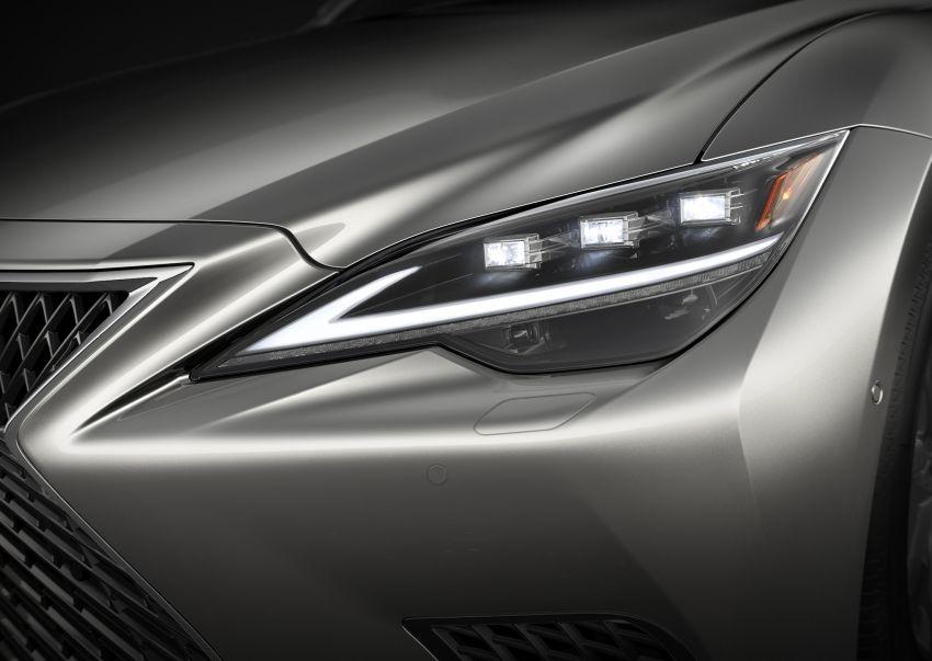 2021 Lexus LS facelift – Lexus Teammate autonomous driving and parking tech, touchscreen, better comfort Image #1142154