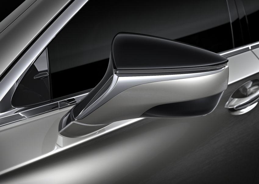 2021 Lexus LS facelift – Lexus Teammate autonomous driving and parking tech, touchscreen, better comfort Image #1142157