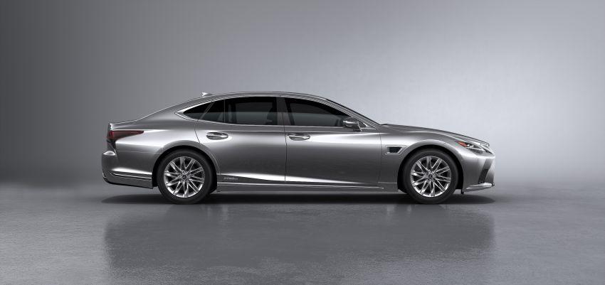 2021 Lexus LS facelift – Lexus Teammate autonomous driving and parking tech, touchscreen, better comfort Image #1142160