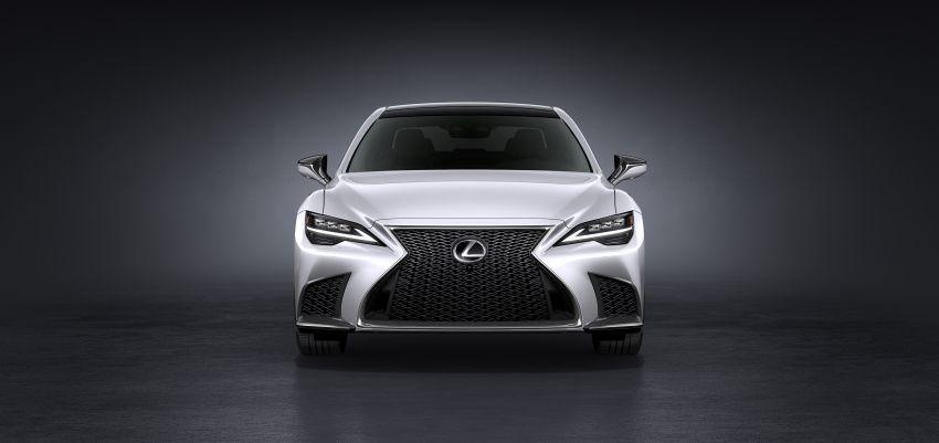 2021 Lexus LS facelift – Lexus Teammate autonomous driving and parking tech, touchscreen, better comfort Image #1142146
