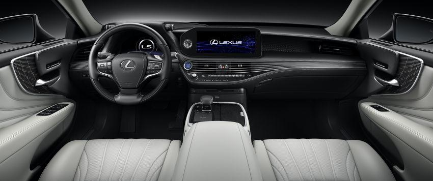 2021 Lexus LS facelift – Lexus Teammate autonomous driving and parking tech, touchscreen, better comfort Image #1142217