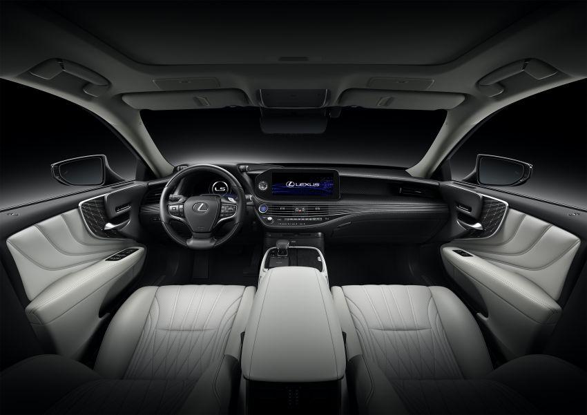 2021 Lexus LS facelift – Lexus Teammate autonomous driving and parking tech, touchscreen, better comfort Image #1142164