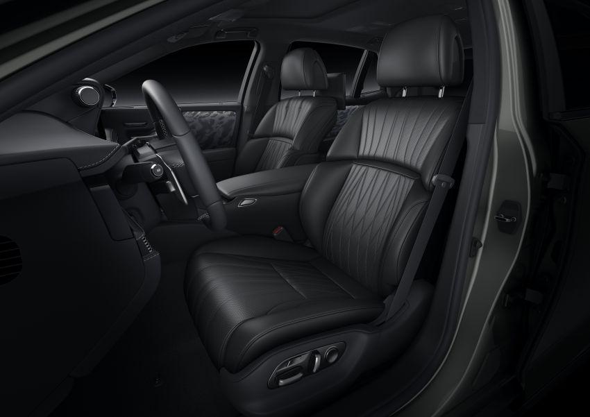 2021 Lexus LS facelift – Lexus Teammate autonomous driving and parking tech, touchscreen, better comfort Image #1142166