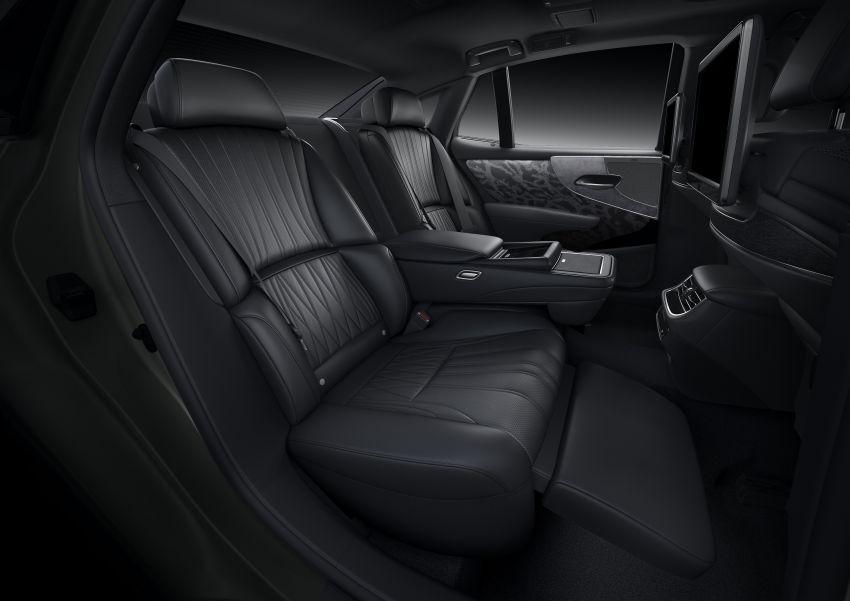 2021 Lexus LS facelift – Lexus Teammate autonomous driving and parking tech, touchscreen, better comfort Image #1142168