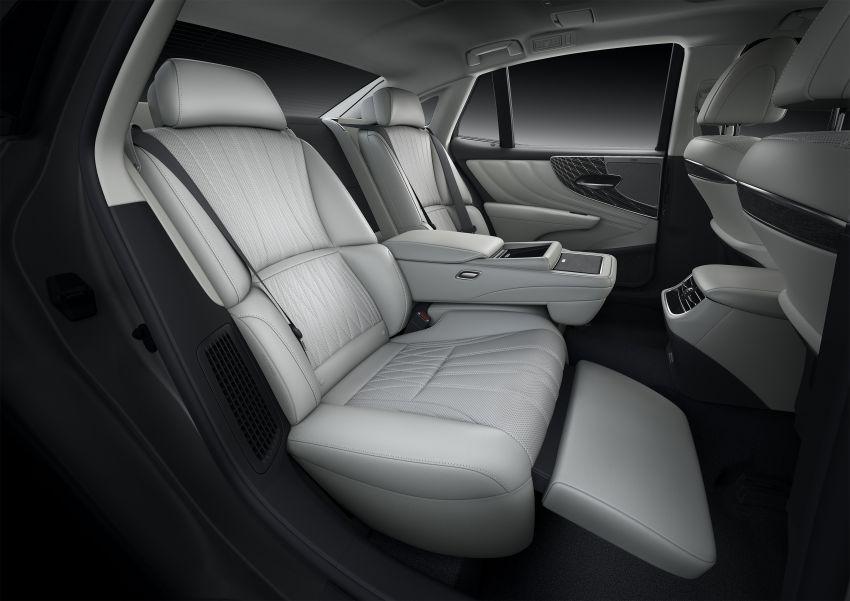 2021 Lexus LS facelift – Lexus Teammate autonomous driving and parking tech, touchscreen, better comfort Image #1142169