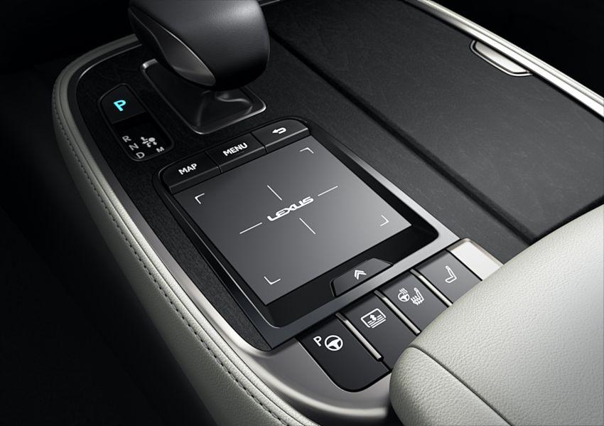 2021 Lexus LS facelift – Lexus Teammate autonomous driving and parking tech, touchscreen, better comfort Image #1142178