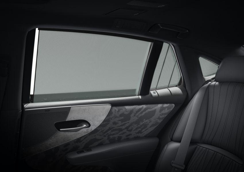 2021 Lexus LS facelift – Lexus Teammate autonomous driving and parking tech, touchscreen, better comfort Image #1142180