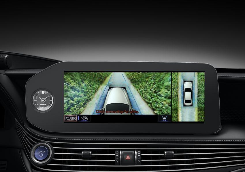 2021 Lexus LS facelift – Lexus Teammate autonomous driving and parking tech, touchscreen, better comfort Image #1142182