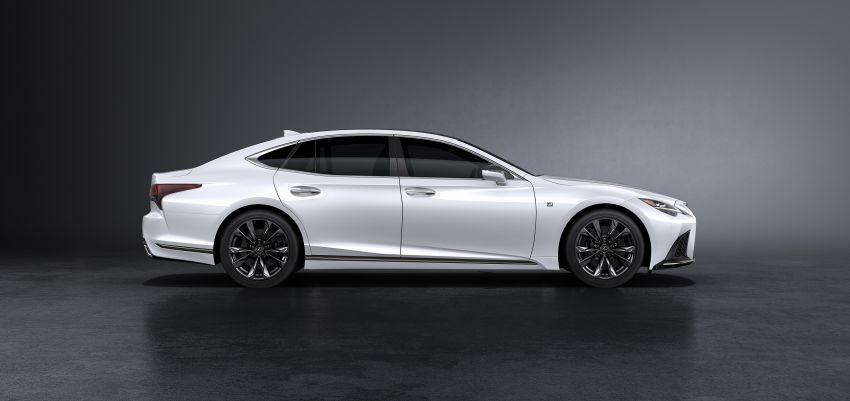 2021 Lexus LS facelift – Lexus Teammate autonomous driving and parking tech, touchscreen, better comfort Image #1142148
