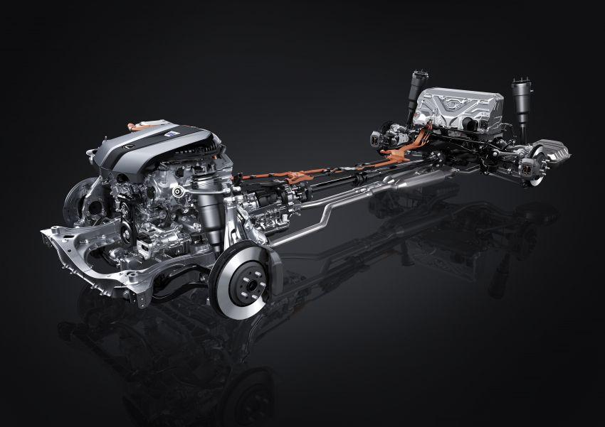 2021 Lexus LS facelift – Lexus Teammate autonomous driving and parking tech, touchscreen, better comfort Image #1142185