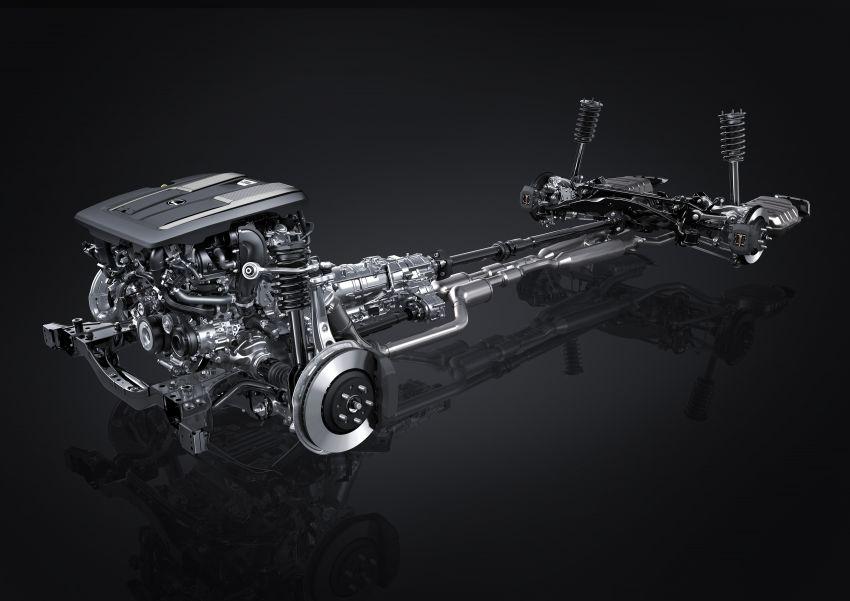 2021 Lexus LS facelift – Lexus Teammate autonomous driving and parking tech, touchscreen, better comfort Image #1142186