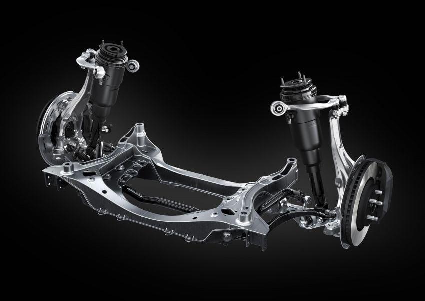 2021 Lexus LS facelift – Lexus Teammate autonomous driving and parking tech, touchscreen, better comfort Image #1142187