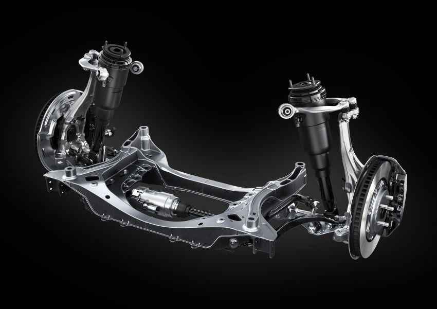 2021 Lexus LS facelift – Lexus Teammate autonomous driving and parking tech, touchscreen, better comfort Image #1142188