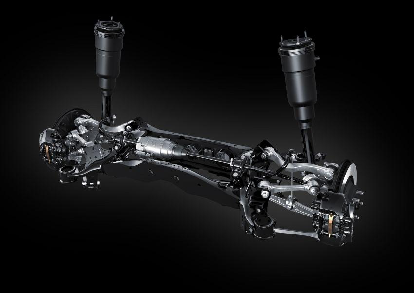 2021 Lexus LS facelift – Lexus Teammate autonomous driving and parking tech, touchscreen, better comfort Image #1142190