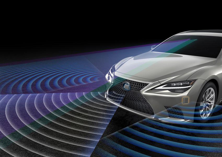 2021 Lexus LS facelift – Lexus Teammate autonomous driving and parking tech, touchscreen, better comfort Image #1142200