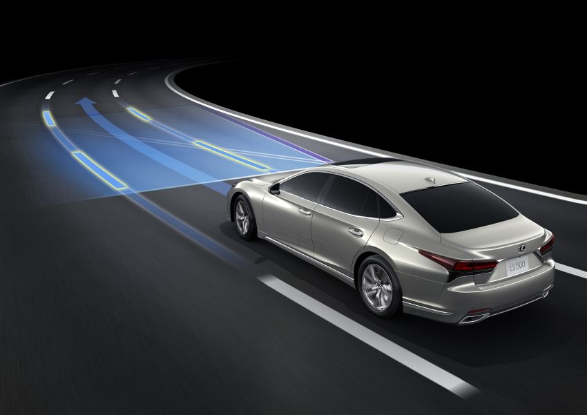 2021 Lexus LS facelift – Lexus Teammate autonomous driving and parking tech, touchscreen, better comfort Image #1142201
