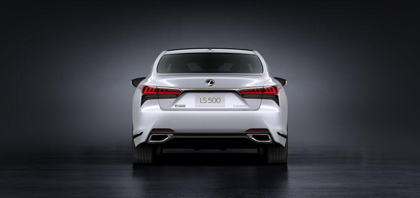 2021 Lexus LS facelift – Lexus Teammate autonomous driving and parking tech, touchscreen, better comfort Image #1142150