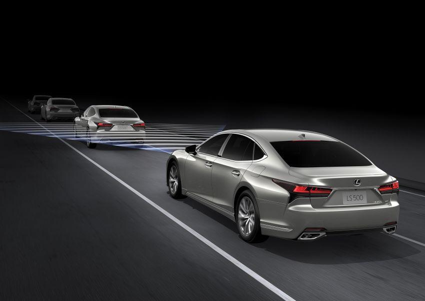 2021 Lexus LS facelift – Lexus Teammate autonomous driving and parking tech, touchscreen, better comfort Image #1142203