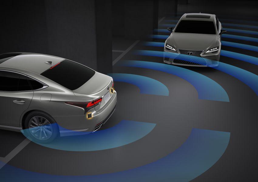 2021 Lexus LS facelift – Lexus Teammate autonomous driving and parking tech, touchscreen, better comfort Image #1142206