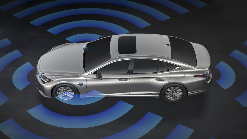 2021 Lexus LS facelift – Lexus Teammate autonomous driving and parking tech, touchscreen, better comfort Image #1142208