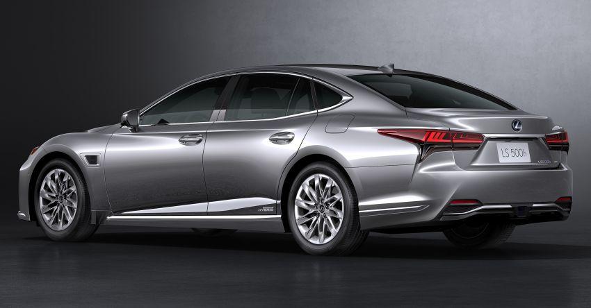 2021 Lexus LS facelift – Lexus Teammate autonomous driving and parking tech, touchscreen, better comfort Image #1142152