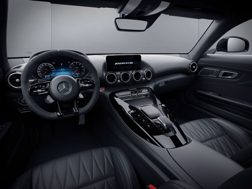 2021 Mercedes-AMG GT – base model gets upgraded to 530 PS, more equipment; AMG GT S discontinued Image #1153804
