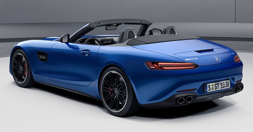 2021 Mercedes-AMG GT – base model gets upgraded to 530 PS, more equipment; AMG GT S discontinued Image #1153796