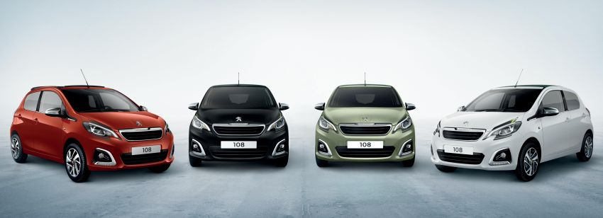 2020 Peugeot 108 – mini car gets updated, from RM69k Image #1143841