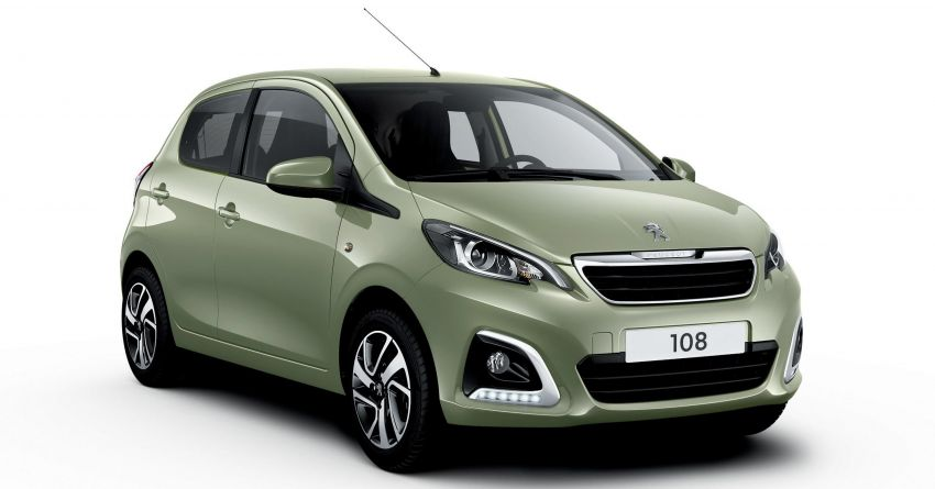 Peugeot 108 2020 – kereta mini dinaiktaraf, dari RM69k Image #1143948