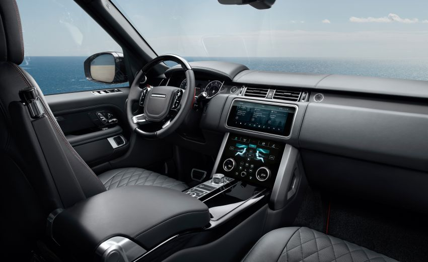 2021 Range Rover – new 3.0 litre mild-hybrid diesel engine, limited edition Westminster editions launched Image #1146947