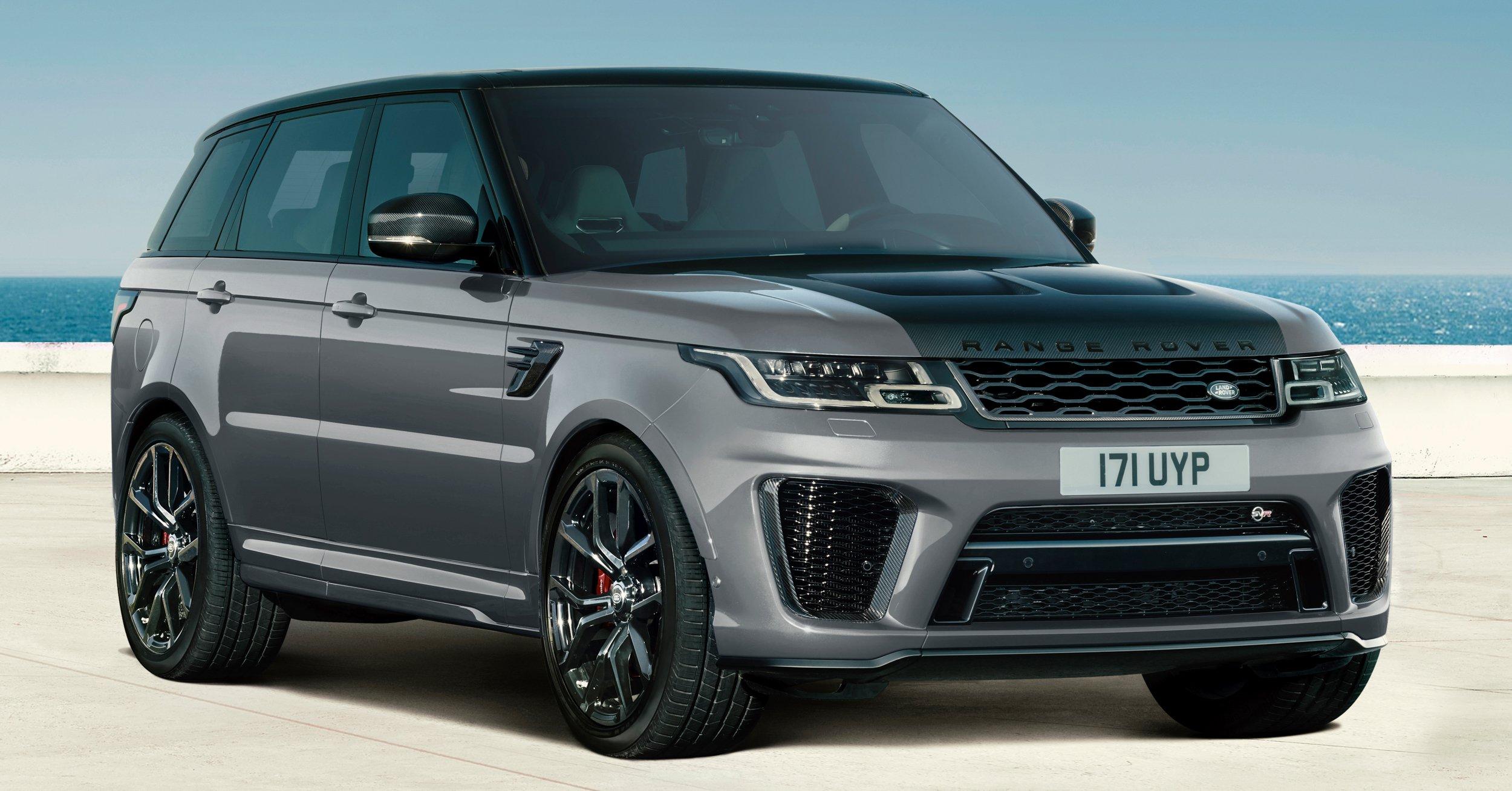 2021 Range Rover Sport Svr Carbon Edition Hse Dynamic Black Hse Silver Special Edition Models Paultan Org