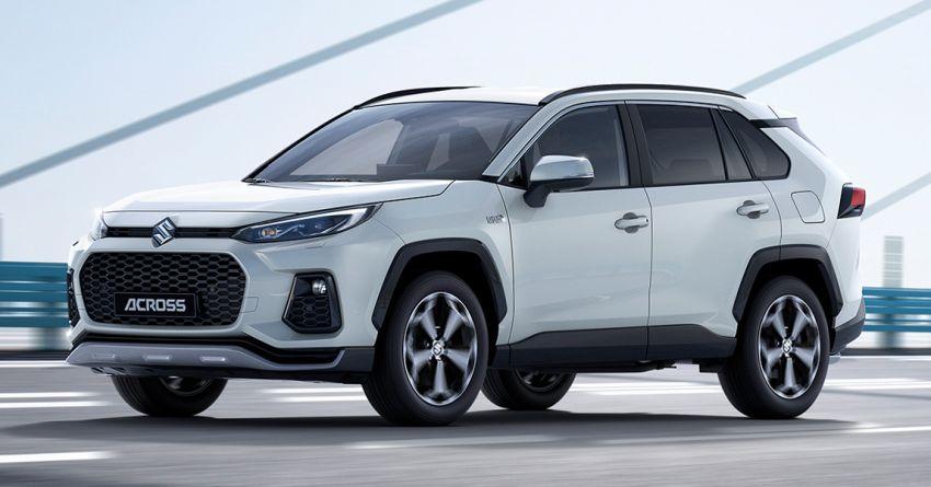 2021 Suzuki Across debuts – PHEV based on the RAV4 Image #1139671