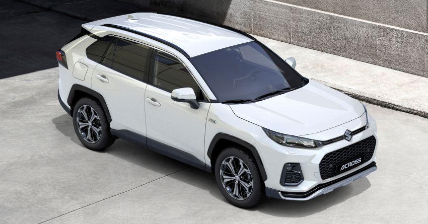 2021 Suzuki Across debuts – PHEV based on the RAV4 Image #1139675