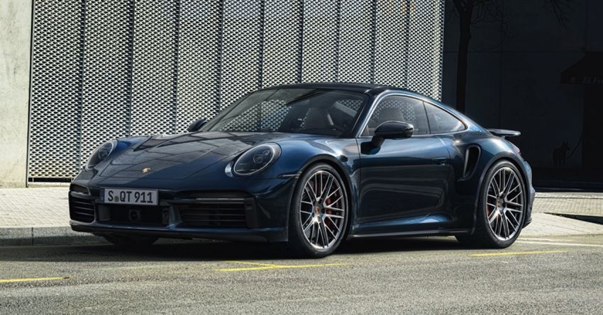 992 Porsche 911 Turbo – 580 PS/750 Nm, optional Lightweight Design package offers 30 kg reduction Image #1147517
