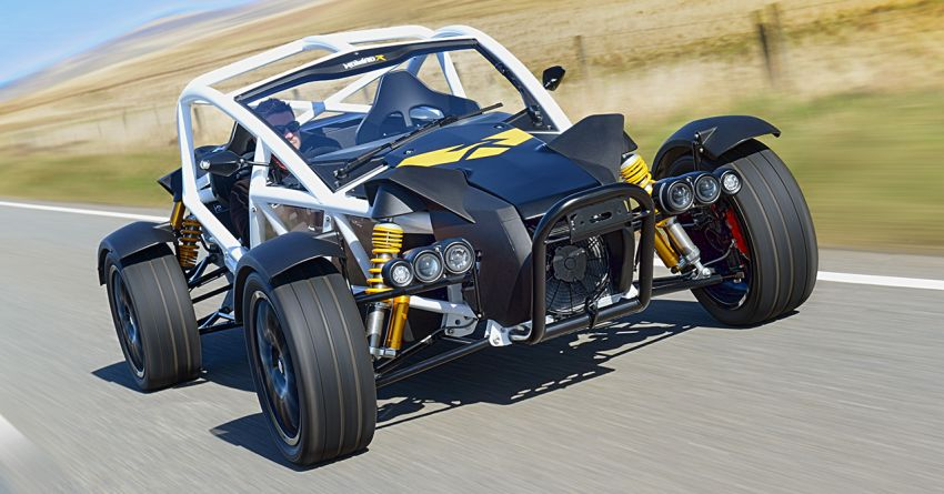 Ariel Nomad R debuts with supercharged Honda Civic Si engine – 335 hp and 330 Nm; limited to just 5 units Image #1148773