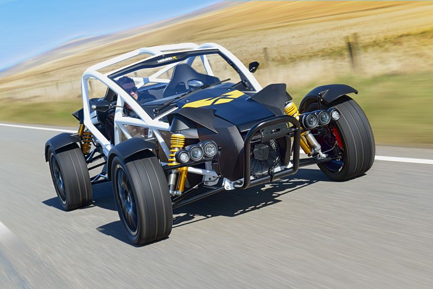 Ariel Nomad R debuts with supercharged Honda Civic Si engine – 335 hp and 330 Nm; limited to just 5 units Image #1149088