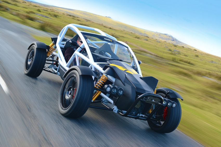 Ariel Nomad R debuts with supercharged Honda Civic Si engine – 335 hp and 330 Nm; limited to just 5 units Image #1149090