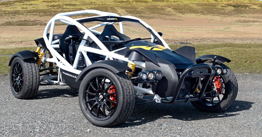 Ariel Nomad R debuts with supercharged Honda Civic Si engine – 335 hp and 330 Nm; limited to just 5 units Image #1149092
