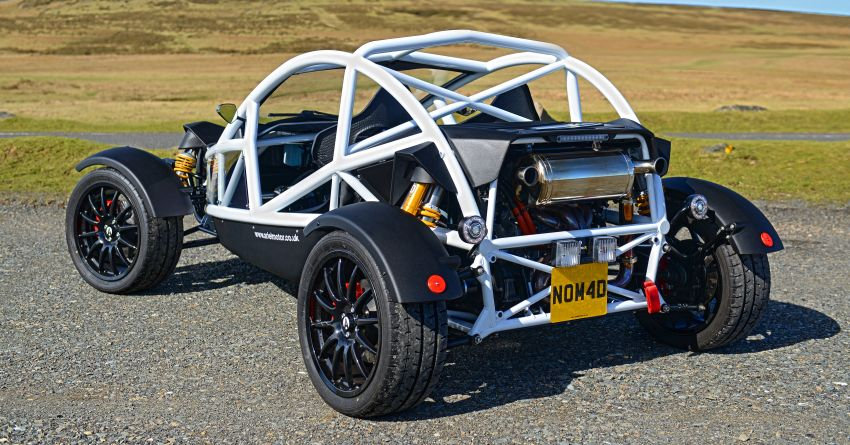 Ariel Nomad R debuts with supercharged Honda Civic Si engine – 335 hp and 330 Nm; limited to just 5 units Image #1149093