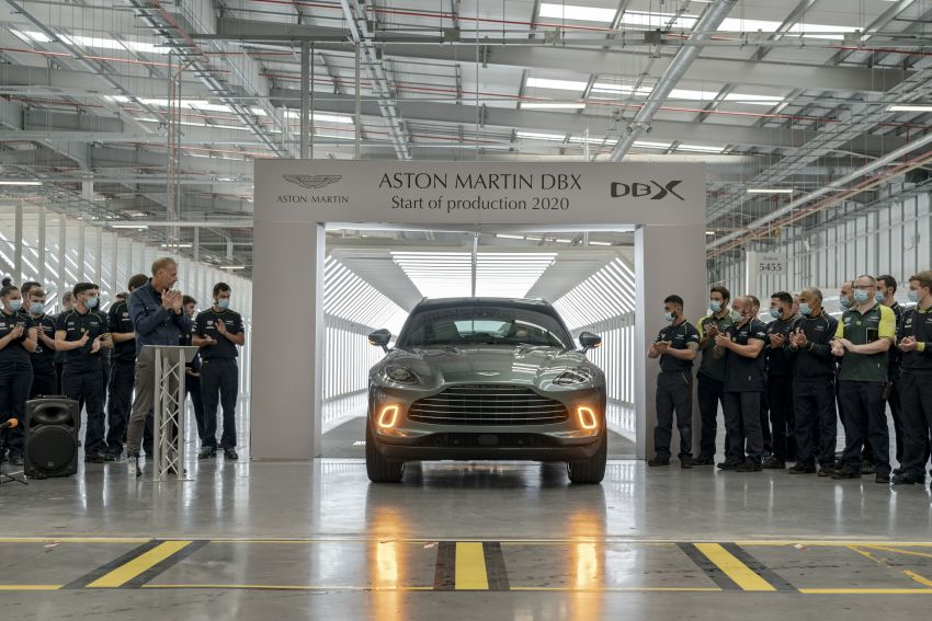 Aston Martin DBX production commences at St Athan Image #1144251