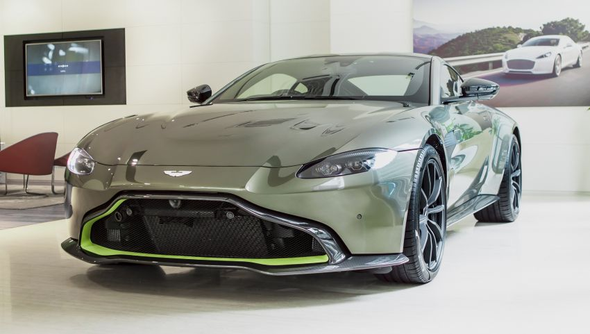 Aston Martin Vantage AMR Malaysia edition debuts – specially-kitted Vantage V8 inspired by its AMR sibling Image #1143790