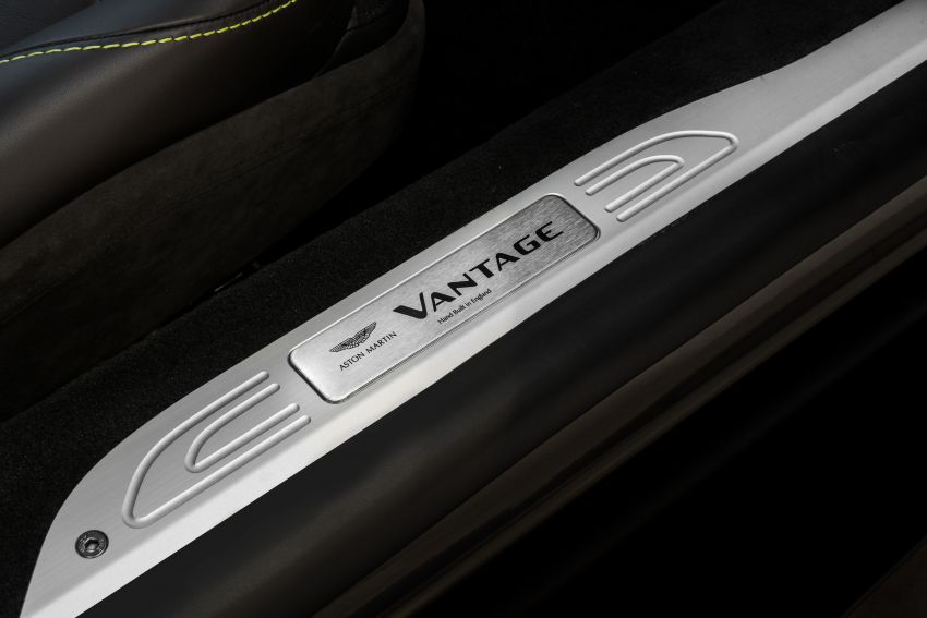 Aston Martin Vantage AMR Malaysia edition debuts – specially-kitted Vantage V8 inspired by its AMR sibling Image #1143785