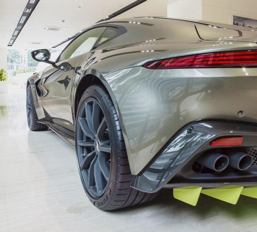 Aston Martin Vantage AMR Malaysia edition debuts – specially-kitted Vantage V8 inspired by its AMR sibling Image #1143793