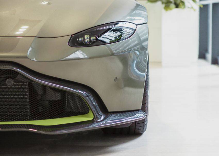 Aston Martin Vantage AMR Malaysia edition debuts – specially-kitted Vantage V8 inspired by its AMR sibling Image #1143795