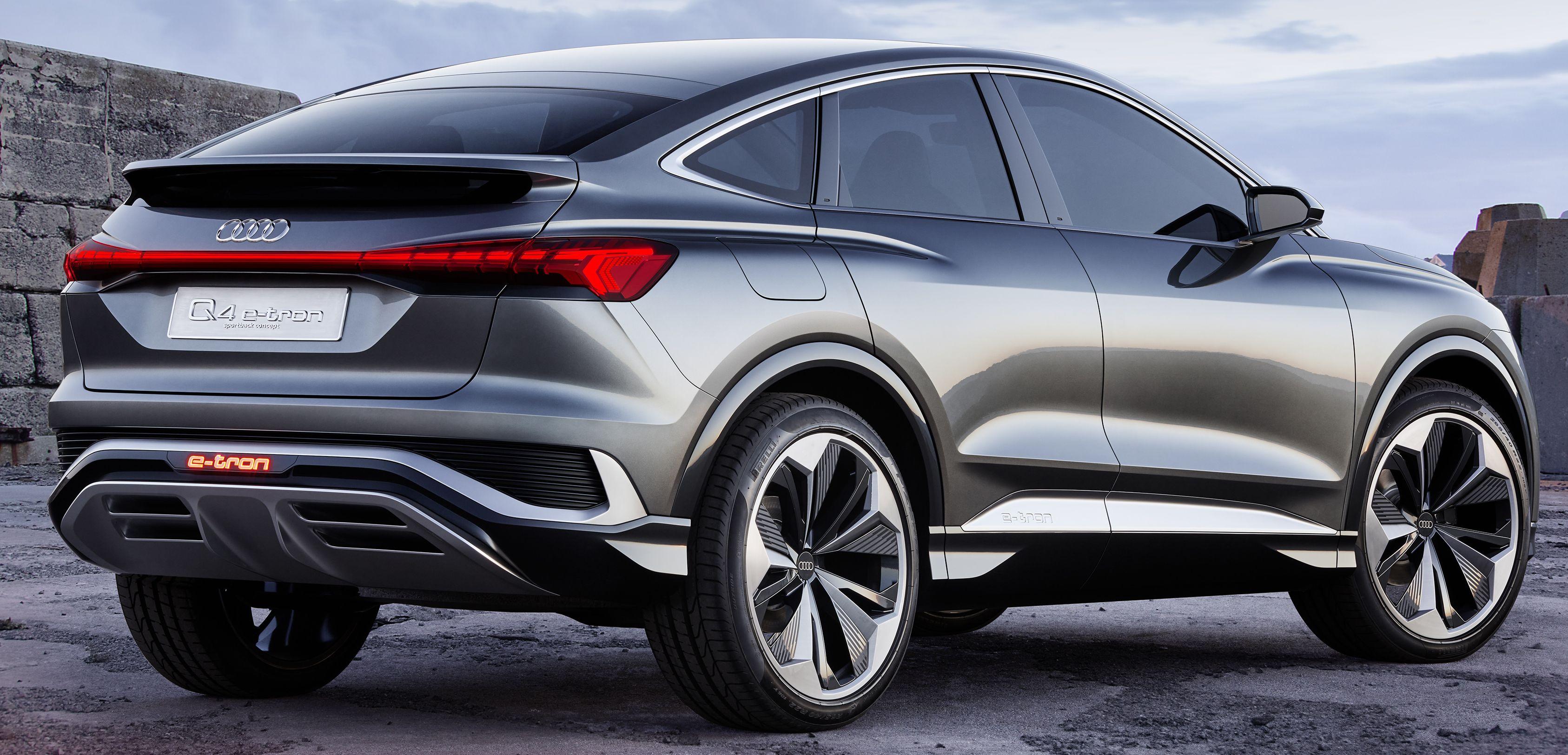 Audi Q4 Sportback e-tron Concept didedah - pacuan elektrik ...