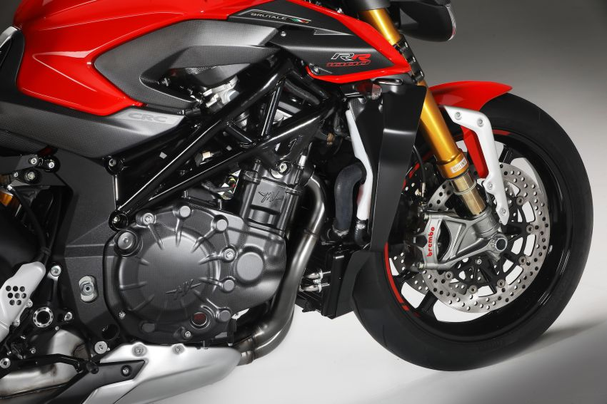 2020 MV Agusta Brutale RR revealed, 208 hp, 116 Nm Image #1138943