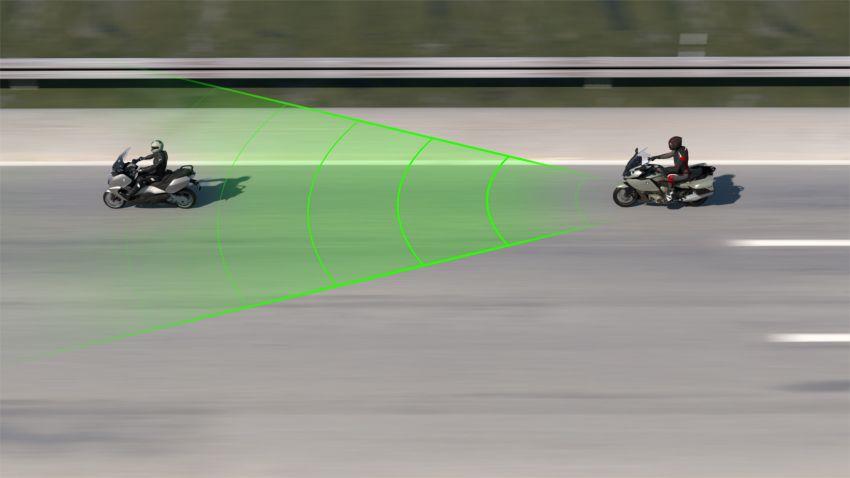 BMW Motorrad perkenalkan Active Cruise Control untuk motosikal – boleh kawal jarak secara automatik Image #1140082